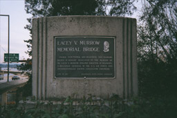Lacey V. Murrow memorial